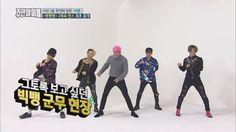 (Weekly Idol EP.285) BIGBANG trying to keep up with the 2X faster version of 'BANG BANG BANG'