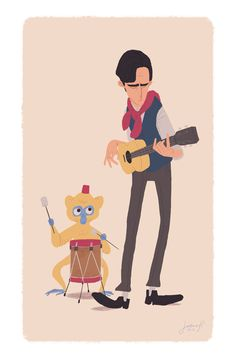 Street Musicians by ~ArchaicEphony on deviantART https://www.facebook.com/CharacterDesignReferences