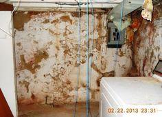 Creepy basement in a Philadelphia Pennsylvania home house for sale.