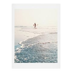 Bree Madden Surfer Dude Art Print | DENY Designs Home Accessories