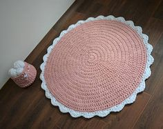 MODEL NO. 20 - THE TOUCH OF COMFORT - MODERN ROUND RUG  This rug is so comfortable that you would wish to keep your feets on it all the time!. What is more? It is durable for years, stainproof, east to cleans and eco friendly. Modern design composed high quality materials gives you the touch of luxury. Hand made from 100% cotton means that this rug is also washable!  This rug is perfect choise for livingroom, dinning room, bathroom, office, kids room or even a hallway. You wont be…
