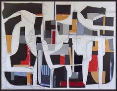 """Saatchi Art Artist Susan Washington; Collage, """"Montaigne IV"""" #art"""