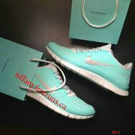 Tiffany Blue Nike Free 2012 Running Shoes Silver Womens [Tiffany Free Runs 1132] - $51.72 :