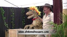 Dinkum Dinosaurs Festival Attraction - YouTube