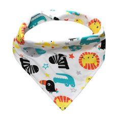 Brand New 1 Pcs Double Layers Cute Baby Bibs Babero Baby Bandana Bibs Burp Cloths Newborn Triangle Scarf Cartton Baby Bib