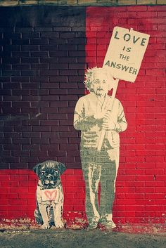 Love is the answer urban art