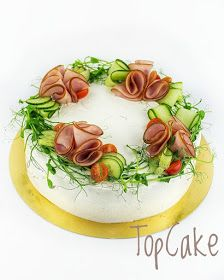 Holiday Appetizers, Appetizer Recipes, Holiday Recipes, Sandwich Cake, Sandwiches, Sushi Cake, Party Food Platters, Finger Food, Buffet