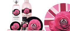 British Rose é a nova linha sazonal da The Body Shop