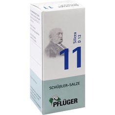 BIOCHEMIE Pflueger 11 Silicea D 12 Tabletten:   Packungsinhalt: 100 St Tabletten PZN: 06320036 Hersteller: A.Pflüger GmbH & Co. KG Preis:…