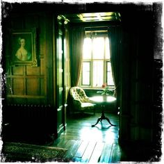 Reading alcove at Chawton House thought to have been used by Jane Austen