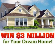 Enter now on PCH.com! #pchdreamhome