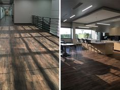 Corporate Flooring: QTS from Parterre Flooring. View our extensive collection of professional grade vinyl flooring today! Luxury Vinyl Flooring, Luxury Vinyl Plank, Flooring Installation, Plank Flooring, Floor Design, Offices, Colonial, Chicago, Interiors