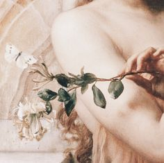 "Psyche in the Temple of Love"" (1882) (detail) by Sir Edward John Poynter (1836-1919)."