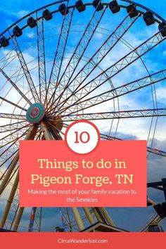 10 Things To Do in P