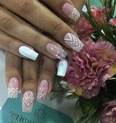 J Nails, Love Nails, Coffin Nails, Hair And Nails, Beautiful Nail Designs, Fancy Nails, Nail Decorations, Perfect Nails, Black Nails