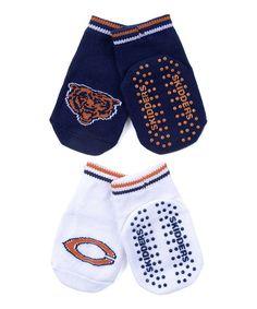 Infant Chicago Bears Navy Blue Field Goal T-Shirt and Short Set