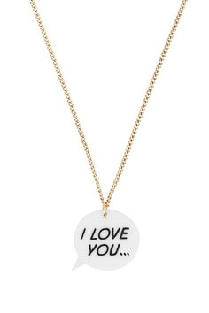 Tatty Devine I Love You Necklace
