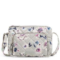 The perfect size for your essentials, this cute little crossbody blends iconic style with RFID technology for your credit and debit cards. From Vera Bradley Handbags and Accessories. Vera Bradley Tote Bags, Vera Bradley Handbags, Vera Bradley Purses, Hipster Bag, Hipster Women, Gucci Purses, Purses And Handbags, Quilted Bag, Custom Bags
