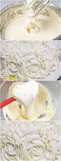 Glacê de Leite Ninho Consistente #GlacêdeLeiteNinho #Glacê #Receitatodahora Fruit Recipes, Sweet Recipes, Cake Recipes, Dessert Recipes, Desserts, Quick Recipes, Icing Recipe, Frosting Recipes, Buttercream Frosting