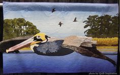 "Don Juan, 30 x 50"", by Margaret Stimson (California). 2015 Pacific International Quilt Festival  - Part 6.  Photo by Quilt Inspiration."