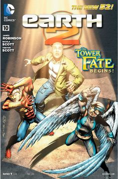 The Tower of Fate begins in Earth 2 #10. Click through for a review of the issue.