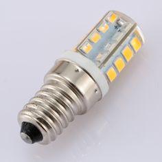 220V E14 Screw Base 2835 SMD LED Silica Gel Mini Corn Light Bulb for Pendant Chandelier Desk Table Decoration Lamp
