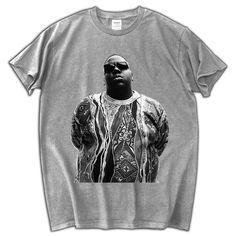 Mens Rare T Shirt BIGGIE SMALL Hip Hop Gangsta Rapper