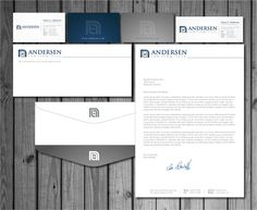 Check out this design for Andersen Law Firm, PLLC Business Cards/Letterhead/Envelopes by MycroBurst.com