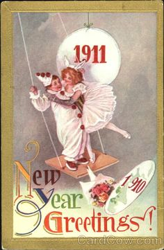 1911 New Year Greetings! New Year's