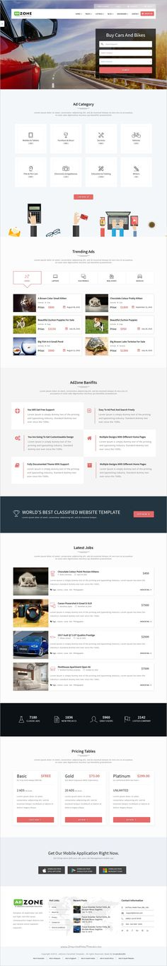Job source classified ads html template pinterest template and job source classified ads html template pinterest template and board maxwellsz