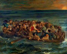 The Shipwreck of Don Juan - 1840 - Eugene Delacroix