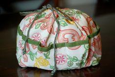 How to Make a Diaper Bag Insert / Purse Organizer