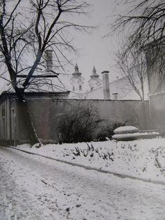 Eger, Jókai Mór utca Utca, Hungary, Snow, Outdoor, Outdoors, Outdoor Games, Outdoor Living, Bud, Let It Snow