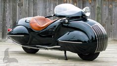 1937 Henderson Art Deco motorcycle
