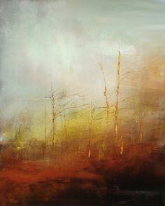 "Saatchi Online Artist: Maurice Sapiro; Oil, 2013, Painting ""Edge Of The Woods"""