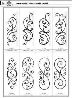 wrought iron work - Google Search