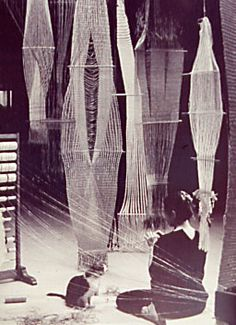 Lenore Tawney, the 20th century pioneer in weaving, died in New York City on September 28, 2007 at age 100. One of the first artists to use fiber as her medium, her innovative use of scale and weaving techniques bridged the gap between craft and art. Although Lenore Tawney was not as recognized as other fiber artists such as Sheila Hicks, her sculptural works have been collected by major museums such as the Metropolitan Museum of Art and the Cooper-Hewitt, National Design Museum. The New…