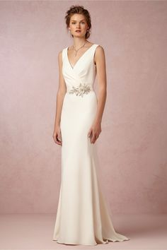 Livia Gown in Bride Wedding Dresses at BHLDN