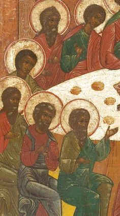 Detailed view: The Last Supper- exhibited at the Temple Gallery, specialists in Russian icons White Jesus, Black Jesus, Black Women Art, Black Art, Blacks In The Bible, Russian Icons, Bible Pictures, Biblical Art, Black History Facts