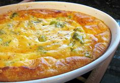 Bake this broccoli casserole for a holiday meal or everyday dinner. This popular, top-rated casserole is made with cooked chopped broccoli, cheese, and eggs.