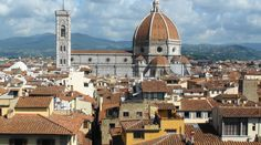 Beautiful Florence from Piazzale Michelangelo - get a local bus to get there, you won't be disappointed