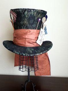 Tim Burton's Mad Hatter Top Hat Johnny Dep wore in Alice in Wonderland