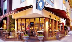 """""""cafe chloe - San Diego, CA"""" Such an amazing exterior and interior."""