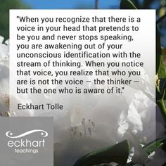 eckhart tolle quotes power of now - Google Search
