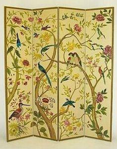 爱 Chinoiserie? Mais Qui! 爱 home decor in Chinese Chippendale style - bird screen   My Luscious Life