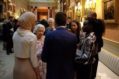 6/23/16 - The Royal Family (@RoyalFamily) on Twitter: Queen's Young Leaders Awards Ceremony, June 23, 2016-Queen Elizabeth
