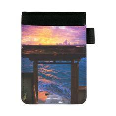 Sunset at Paradise Bay Mini Padfolio