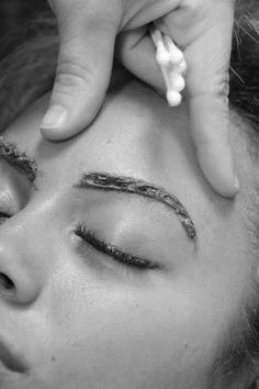 Eyebrow tint effigy salon photo by natalie newton photography Beauty Bar, Hair Beauty, Beauty Stuff, Eyelashes, Eyebrows, Medical Esthetician, Airbrush Tanning, Eyebrow Tinting, Body Waxing