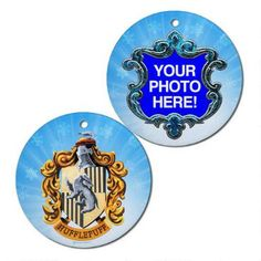 Hufflepuff Crest Personalized Ornament |
