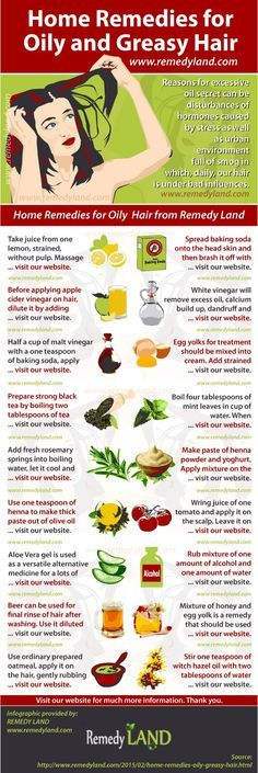 The best natural home remedies for oily hair transformation from oily hair to clean and looking great.